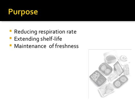 Modified Atmosphere Packaging Disadvantages by Modified Atmosphere Packaging