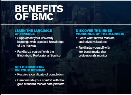 bmc certification bloomberg guide research guides