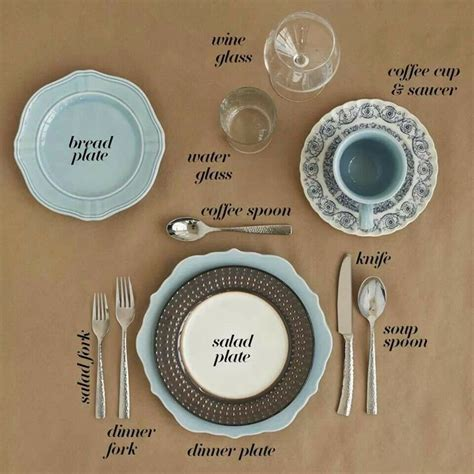 set  place   table   ideas  formal