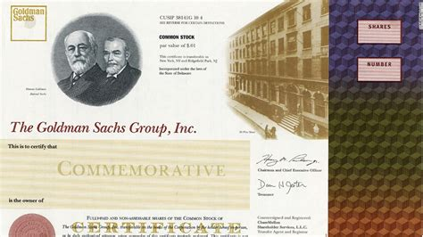 The ultimate office decoration: Stock certificates - Sep ...