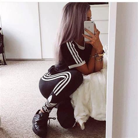 leggings adidas black white adidas tracksuit bottom