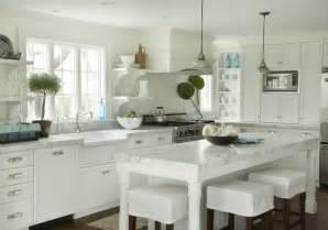 cottage kitchen island white cottage kitchens captainwalt