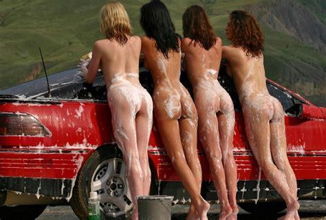 The Way To Wash A Car Nudeshots