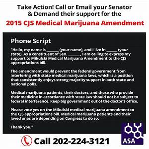 Take Action to Urge the US Senate to Protect State Medical ...