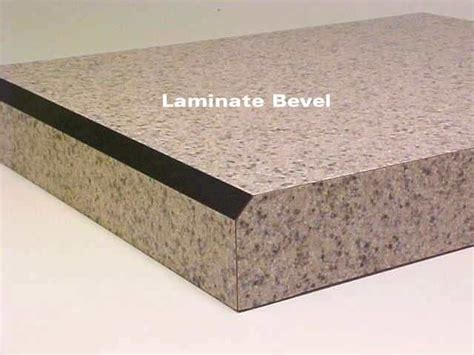 Laminate Countertop Beveled Edge - mal o sen laminate countertop edge styles