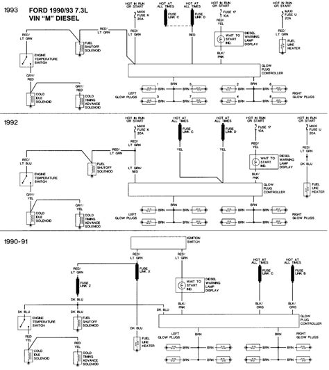 1996 F350 Parking Light Wiring Diagram by Ford Diagramas