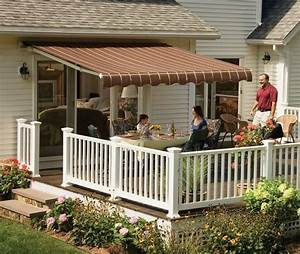 12 U0026 39  Sunsetter Vista Awning With Acrylic Fabric