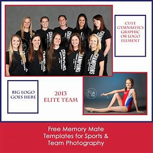 11 free memory mate templates for sports photography With sports team photography templates
