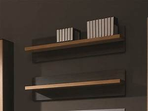 Etagere Sans Fixation : etag re murale pour livres ou cd tag re murale fixation invisible ~ Teatrodelosmanantiales.com Idées de Décoration