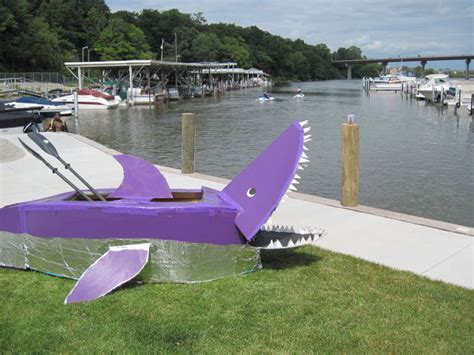 Cardboard Boat Easy by Make A Cardboard Boat 7 Steps With Pictures