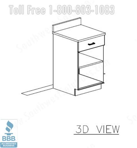 3d design kitchen modular office cabinets millwork casework furniture 1083