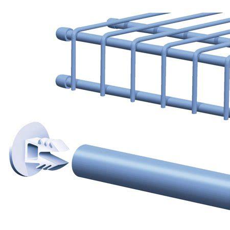 Closetmaid Parts List - closetmaid superslide wire shelf end cap walmart