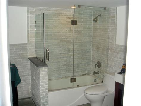 tub showers doors   jersey allied glass mirror