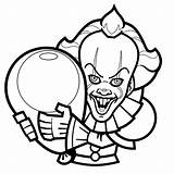 Coloring Halloween Clown Coloriage Printable Sheets Children Dessin Disney Grade Easy Worksheets Scary Preschool Math Printables Number Coloriages Sheet Movie sketch template