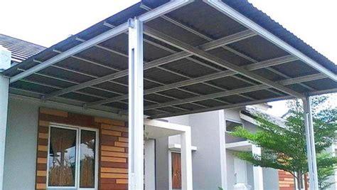 kanopi rumah baja ringan baja ringan system