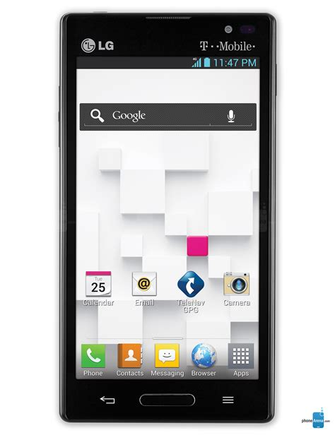 lg t mobile phones lg optimus l9 t mobile specs