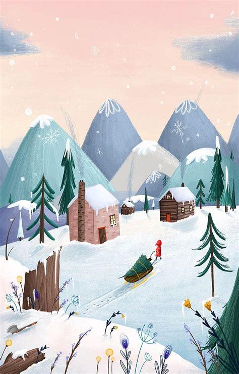 home page  portfolio  illustrations christmas art