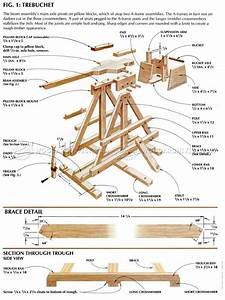 Toy Trebuchet Plans • WoodArchivist