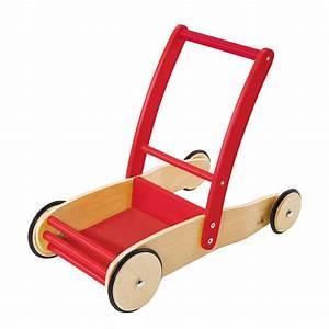 Puppenwagen Lauflernwagen Holz : pinolino lauflernwagen aus holz von pinolino rot natur ~ Watch28wear.com Haus und Dekorationen