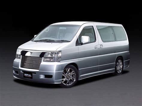 Nissan Elgrand Backgrounds by 1999 Nissan Elgrand E50 Pictures Information And