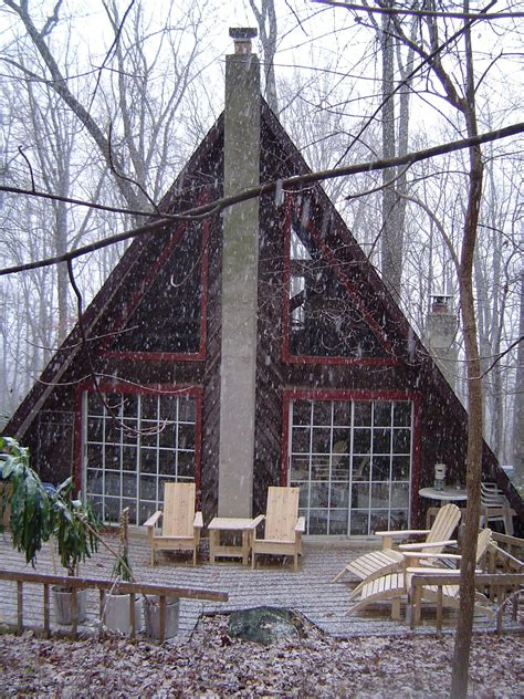 a frame cabins beard a frame cabin obsession