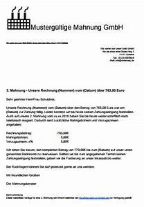 Mahnung Ohne Rechnung Bgb : mahnung schreiben mit muster und vorlagen ~ Themetempest.com Abrechnung