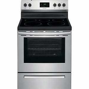 Frigidaire Manual Clean Electric Range At Lowes Com