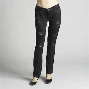 Hot Kiss Destructed Skinny Jeans