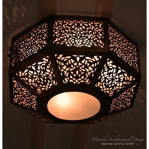 moroccan ceiling light  york