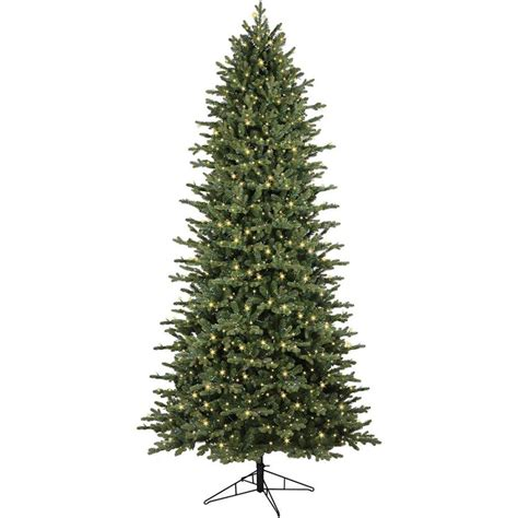 12 foot white christmas 2000 lights ge 9 ft pre lit ashville fir artificial tree with 2000 constant warm white led lights