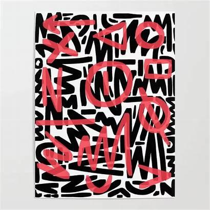 Graffiti Society6 Poster Thewellkeptthing Posters Matthew
