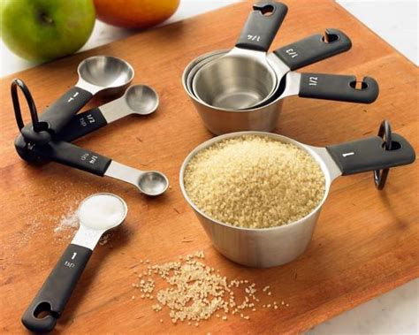 Oxo Stainless-steel Measuring Cups & From Williams Sonoma