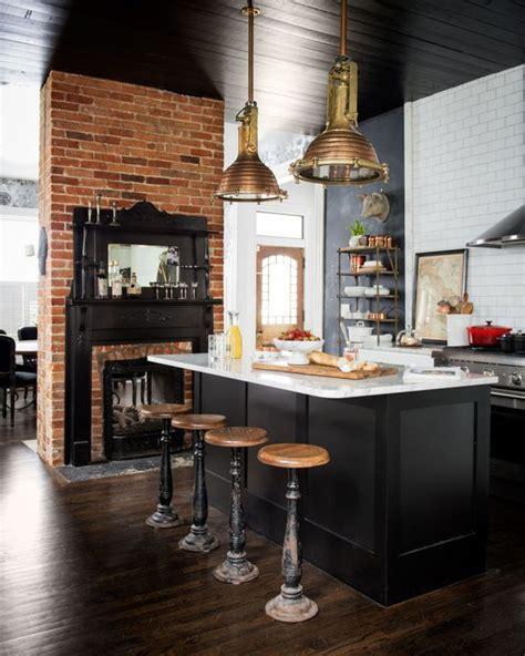 decoracion de cocinas estilo industrial  como