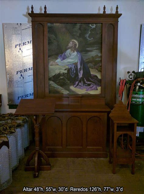 altars  church items