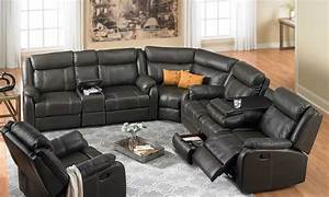 Theater Sectional Reclining Sofa Theater Sectional
