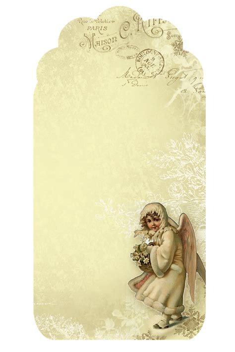 retro  printable mini kit angels