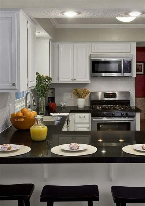 practical  shaped kitchen designs  small spaces