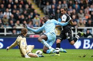 Premier League: Newcastle v Manchester City – in pictures ...