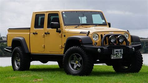 Who Needs A Ranger Or Hilux When You Can Drive A Jeep