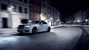 Wallpaper Spofec Rolls Royce Wraith, Overdose, silver