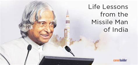 dr kalam lessons from the missile of india