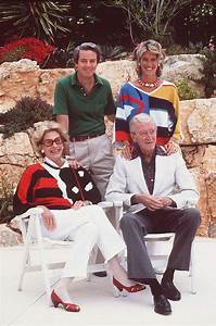 Jimmy Stewart with wife Gloria, daughter Kelly and her ...