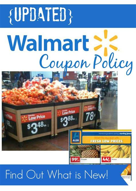 updated walmart coupon policy    wording