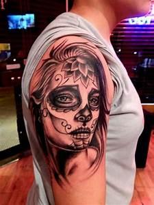Tete De Mort Mexicaine Femme : les 25 meilleures id es de la cat gorie tatouage mexicain ~ Melissatoandfro.com Idées de Décoration