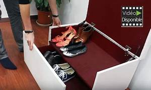 Coffre A Chaussure : fancy box range chaussures coffre deals et offres en paris et toute la france ~ Teatrodelosmanantiales.com Idées de Décoration