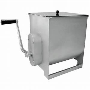 44 Lb  Manual Meat Mixer With 7 Gallon Tank