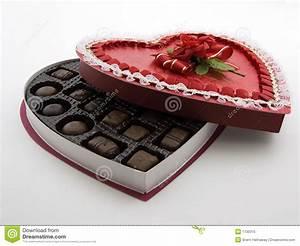 Valentine Chocolate Box Royalty Free Stock Photo - Image ...