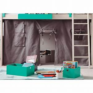 Decoration Pour Rideau : rideau pour fabriquer un lit forme tipi loft asoral ~ Melissatoandfro.com Idées de Décoration