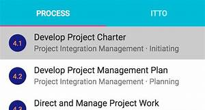 Pmp Itto And Capm Itto Learning Tool Based On Pmbok Guide