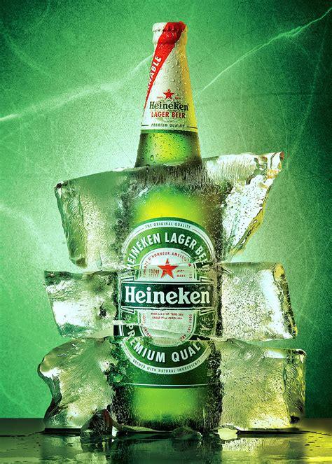 heineken ice  behance